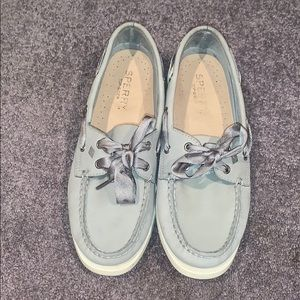 Sperry Top-Sider Grey Boat Shoes 👟